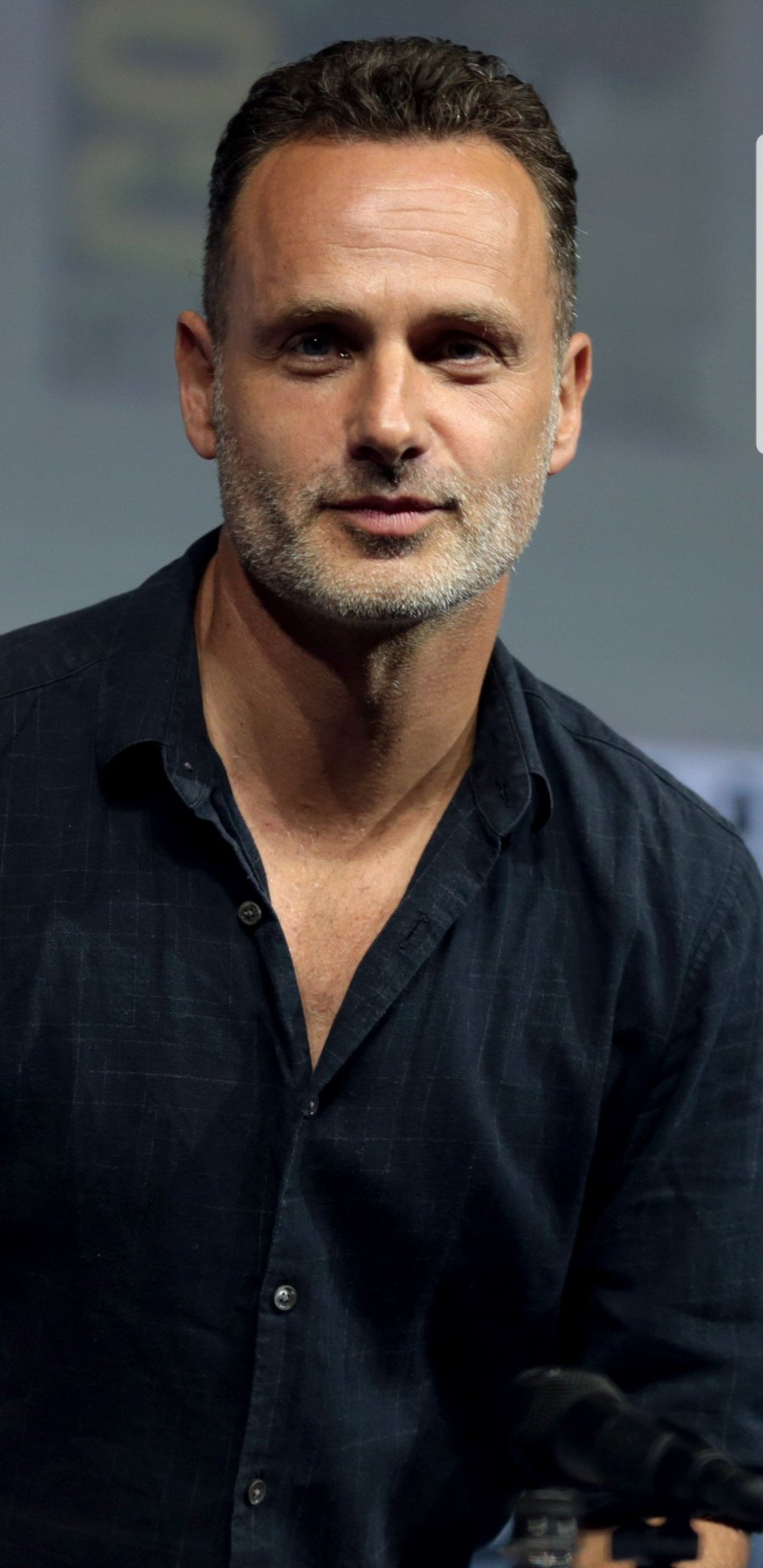 DOES ANDREW LINCOLN RUN THIS MUTHAFUCKA!?   HELL YEAH!  Happy Birthday!!