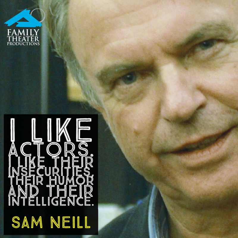 Happy Sept. 14 birthday to Australian actor Sam Neill ...