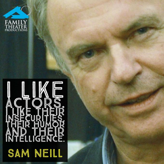 Happy Sept. 14 birthday to Australian actor Sam Neill ...