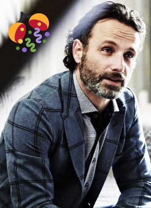 Happy birthday Andrew Lincoln