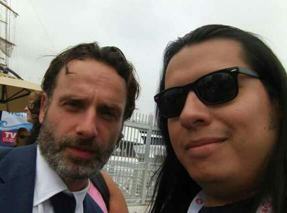 Happy birthday to Mr. Andrew Lincoln!!!