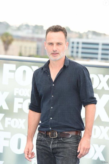 Happy birthday Rick Grimes. Andrew Lincoln a 45 ans aujourd\hui.