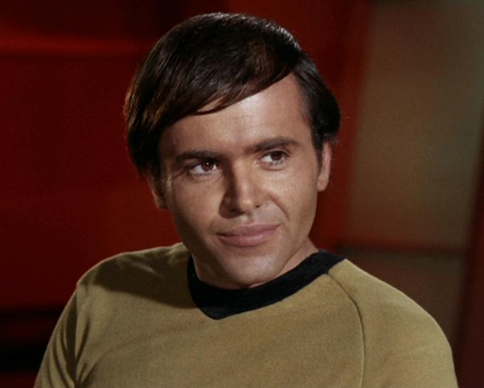 Happy birthday to Walter Koenig