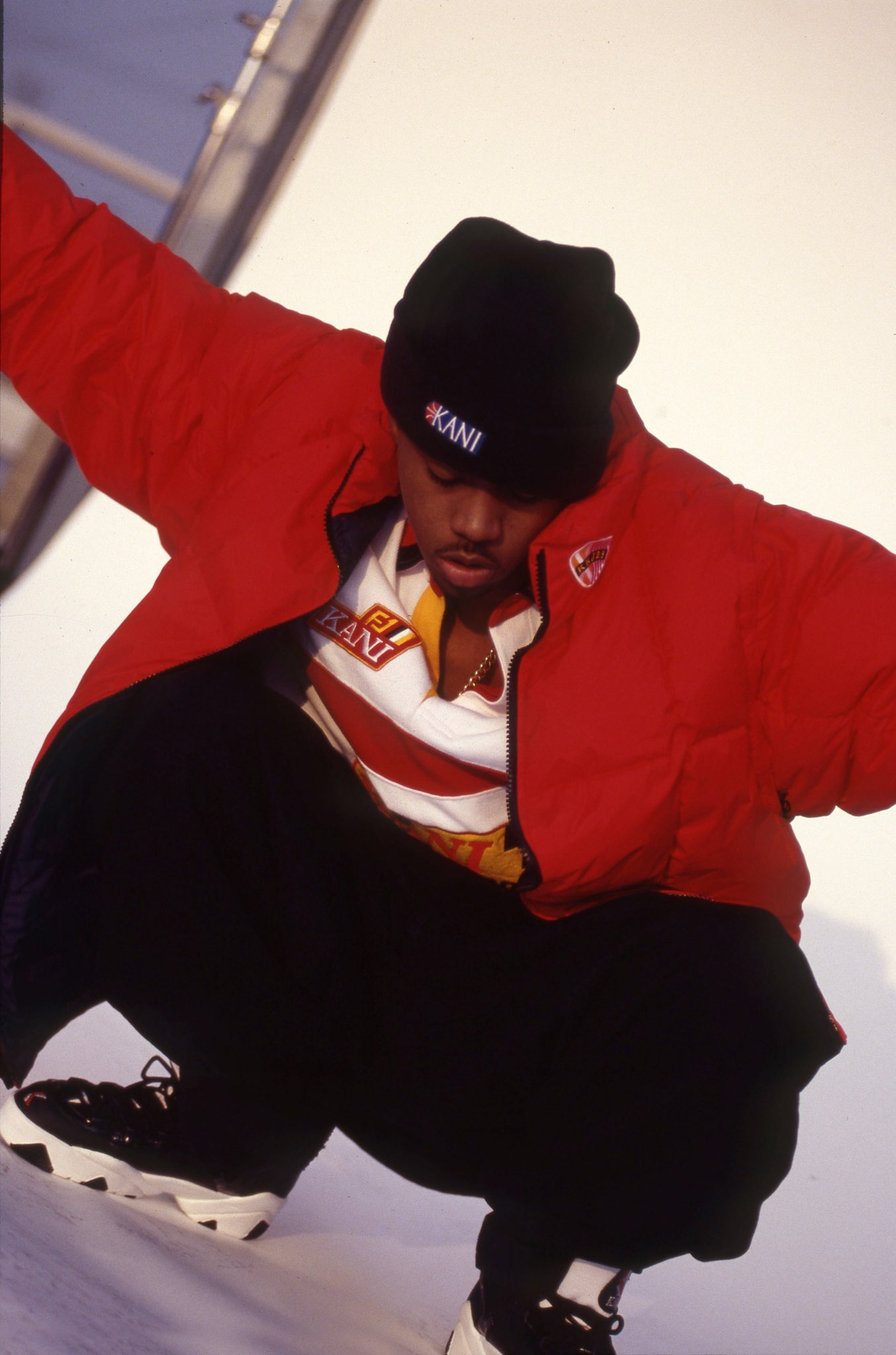 Happy Birthday Nas! Unreleased pics from 1996 that were just developed weeks ago by Karl Kani.