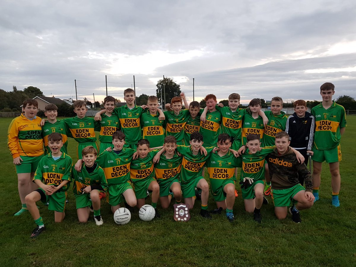 test Twitter Media - @Offaly_GAA U13 A Shield County Champions  !!!!  Rhode 2-6 @KK_GAA  1-6  Well Done Boys 🎉💚💛 https://t.co/GthB61HqnI