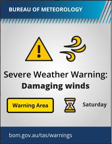A Severe Weather Warning has been issued for most...