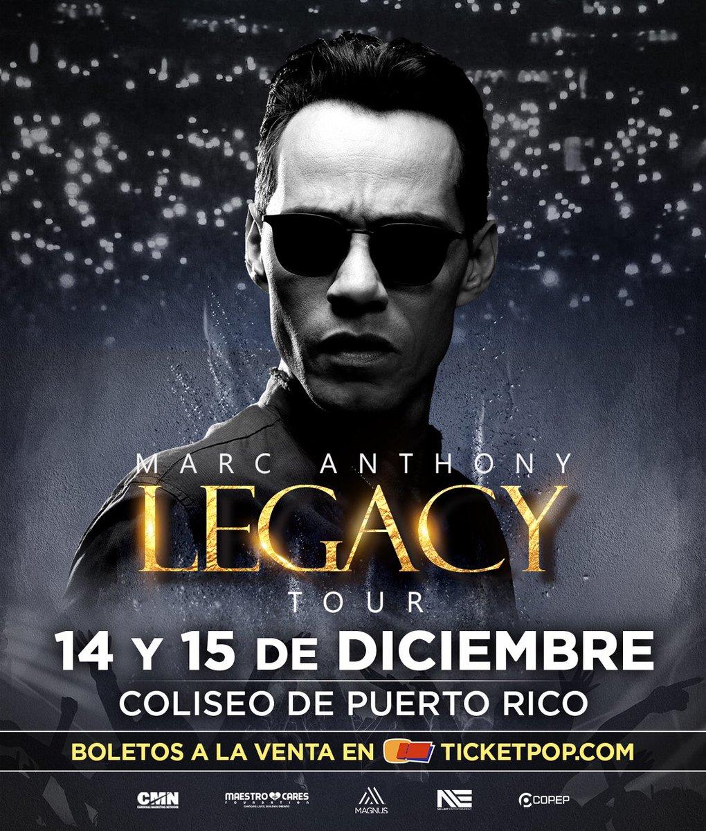 Mi Puerto Rico ???????? querido nos vemos pronto, serán dos noches inolvidables. #LegacyTour https://t.co/peG7XLi4a2