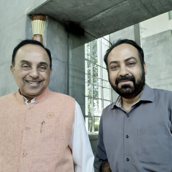 Here s wishing you a happy birthday with many more to come...  Dr Subramanian Swamy