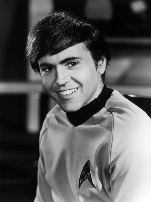 Happy Birthday to Star Trek\s Walter Koenig, born on this day in 1936.