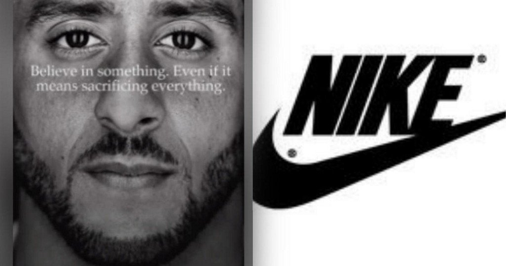 Nike stock price reaches all-time high after Colin Kaepernick ad