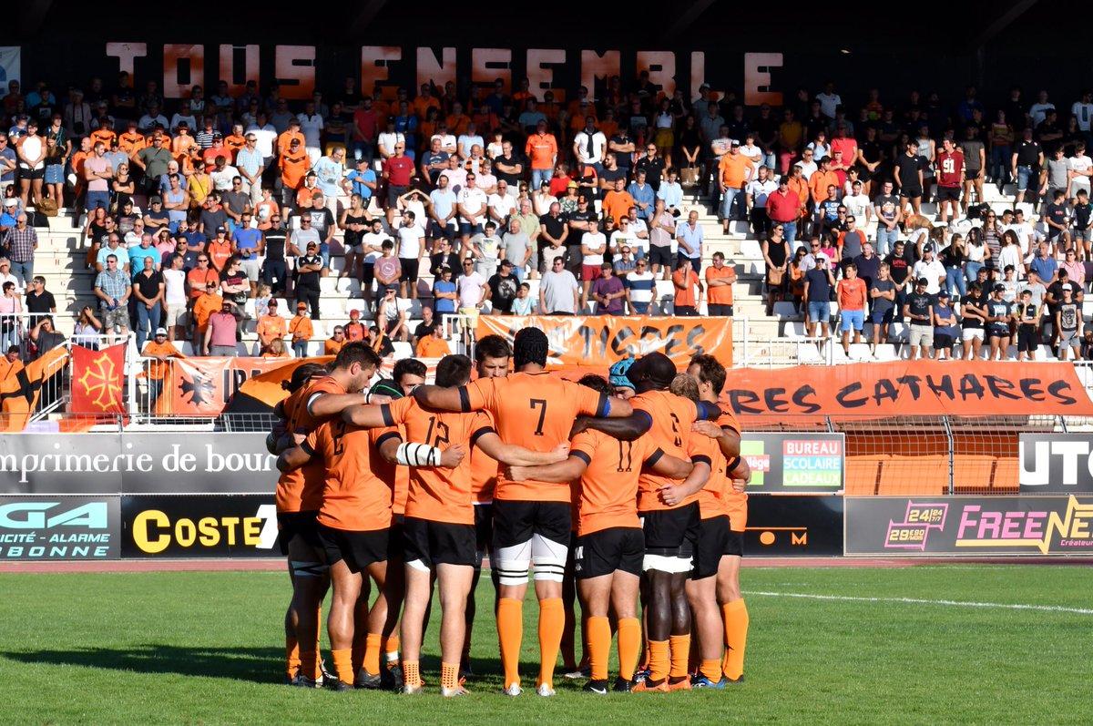 JOUR DE MATCH   A 18h30, nos joueurs reçoivent @blagnac_rugby dans le cadre de...