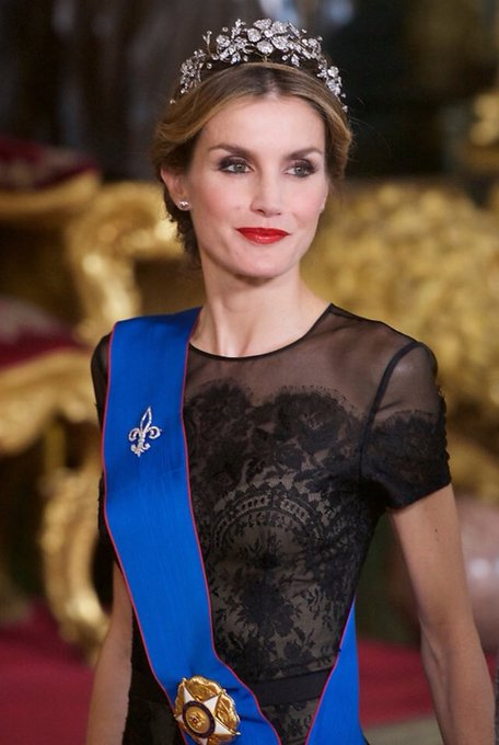 Happy 46th birthday, Queen Letizia of Spain