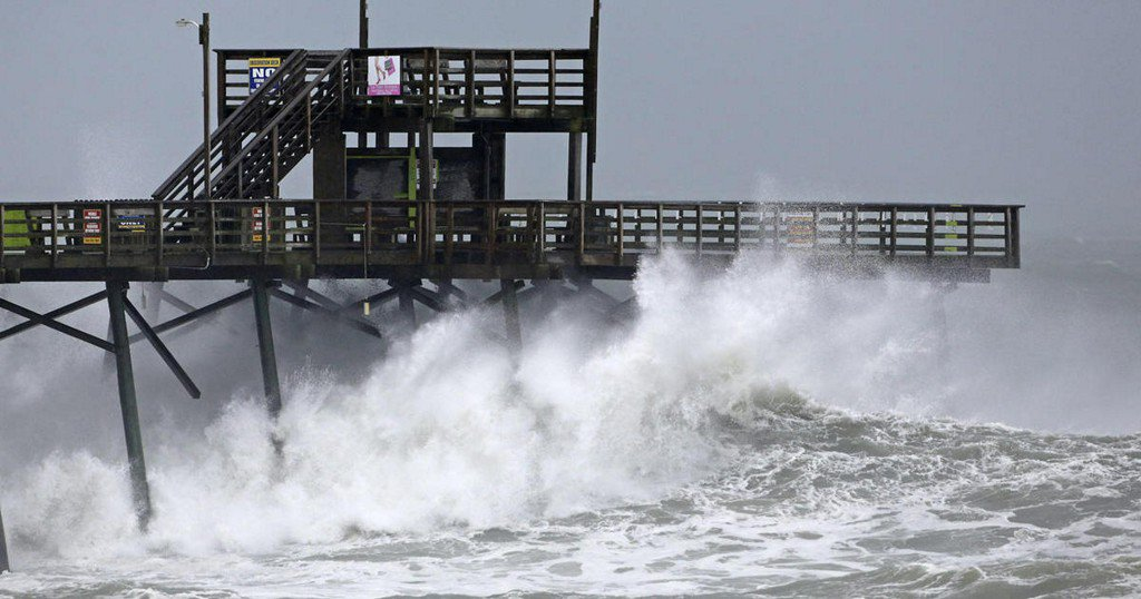 All the live Hurricane Florence webcams in one place: