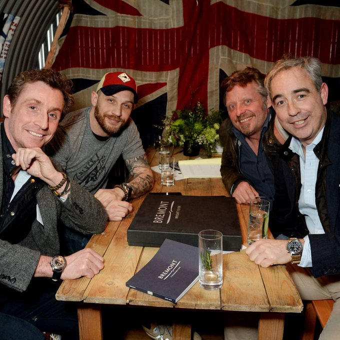 Wishing a very happy birthday to our friend Tom Hardy.