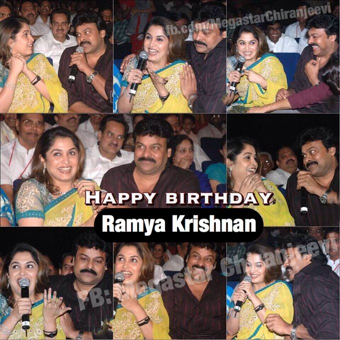 Happy Birthday Ramya Krishnan Garu.