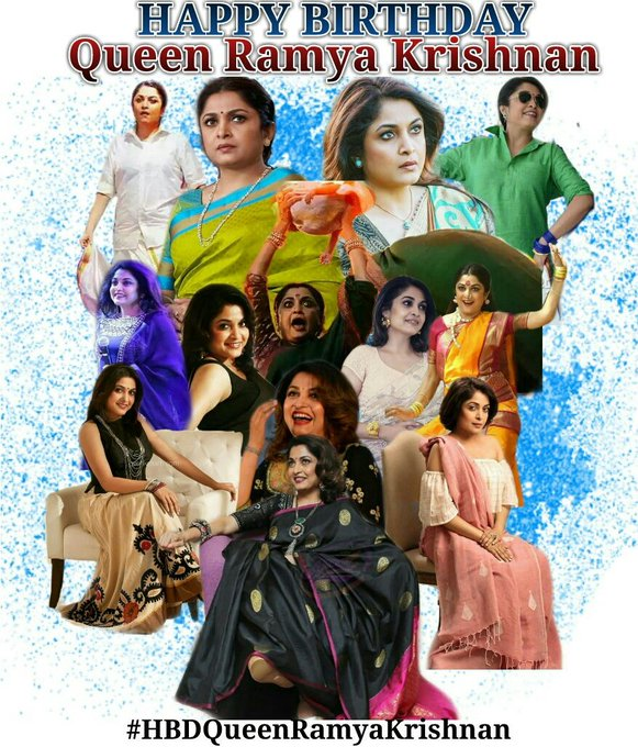 Happy Birthday Ramya Krishnan mam