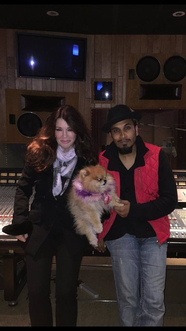 Happy birthday to my singing partner with the beautiful voice! Lisa Vanderpump
