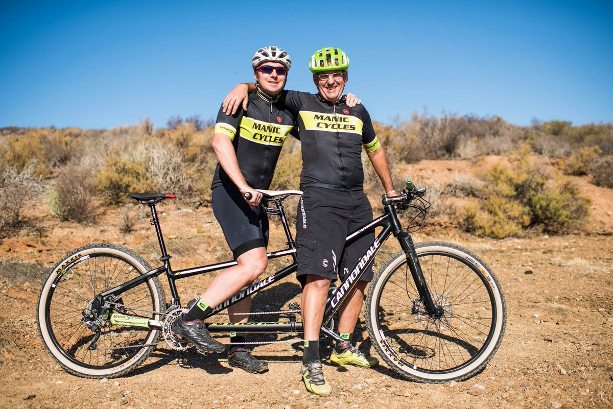 test Twitter Media - Paralympic triathlon hopeful Gavin Kilpatrick and tandem mountain bike guide Francois Esterhuizen will ride the challenging 100km Buco Lions Karoo to Coast Mountain Bike Challenge to support SightFirst projects across the Southern Cape:  - https://t.co/npanrCRkqz https://t.co/sFGezimFkN