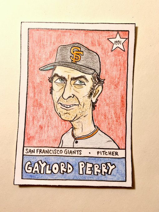 Wishing a very happy 80th birthday to Gaylord Perry!