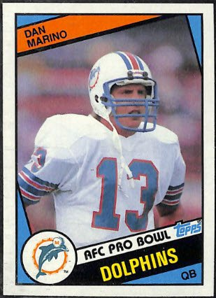 Happy 57th birthday to Dan Marino,  one of the keys in the loaded 1984 Topps Football set: