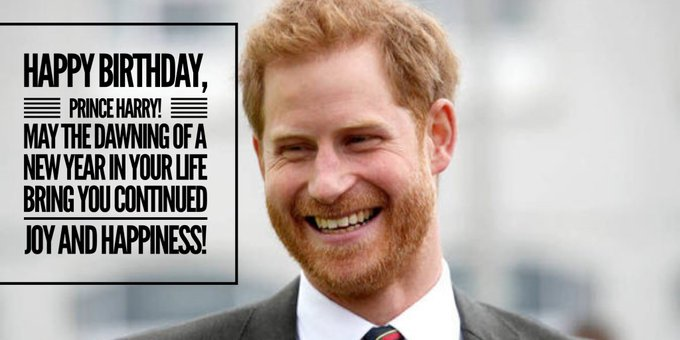 Happy Birthday, Prince Harry!!