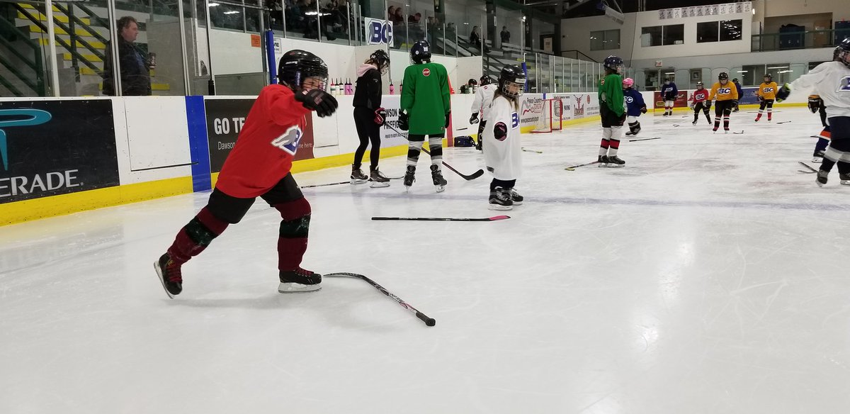 test Twitter Media - It's all fun, skills and games in Dawson Creek this weekend. @BCHockey_Source and @HockeyCanada are hosting a female jamboree this weekend among the national women's team fall festival. #girlshockey https://t.co/0TcvrxB4JP