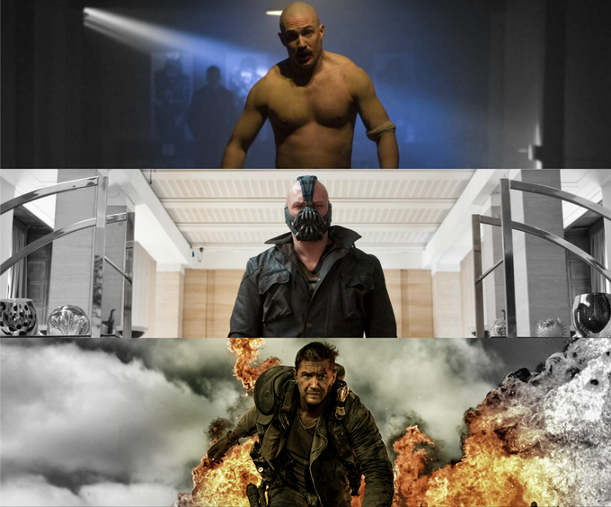 A man of many faces, shapes and sizes ...  HL wishes a VERY Happy Birthday to Tom Hardy. (Martyn)