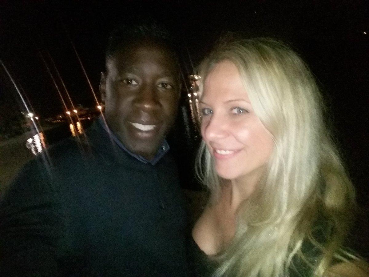 With my good friend and collegue Eddy Blackone in Budapest night😀😀😀 FCSumWu