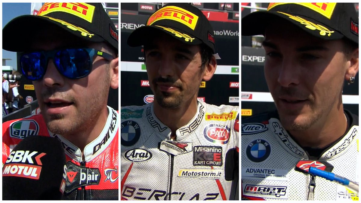 test Twitter Media - Top 3 of #STK1000 share their thoughts on the 🎙️  #PortimaoWorldSBK   📽INTERVIEW | #STK1000 https://t.co/WgdFWBIIdI https://t.co/74eBmFSFj7