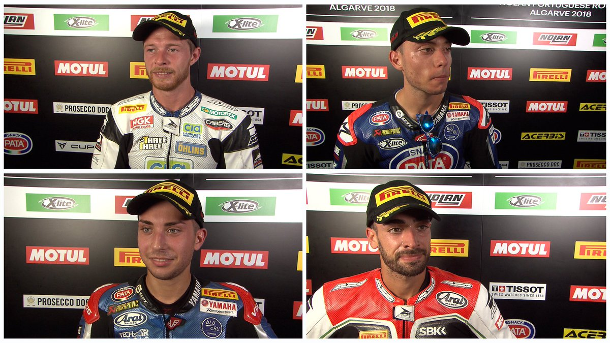 test Twitter Media - #WorldSSP top 3 + top ESS rider comment on incredible Sunday!   #PortimaoWorldSBK   📽INTERVIEWS | #WorldSSP https://t.co/noEHyTcl4n https://t.co/9SoiSY41L8