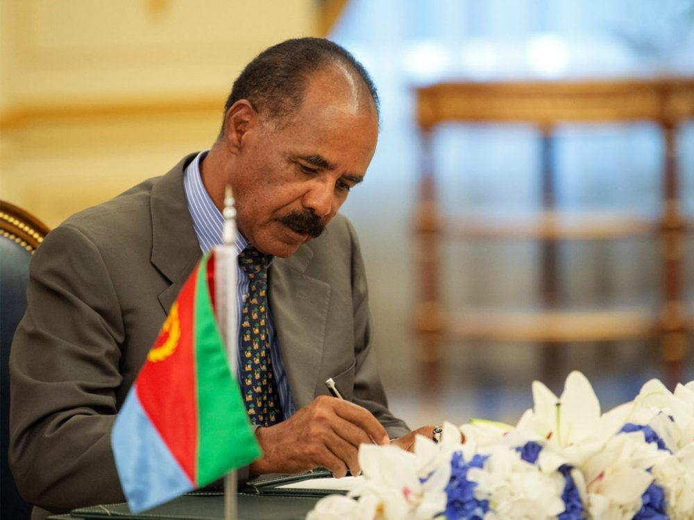 Leaders of Ethiopia and Eritrea sign historic peace accord at Saudi Arabia summit