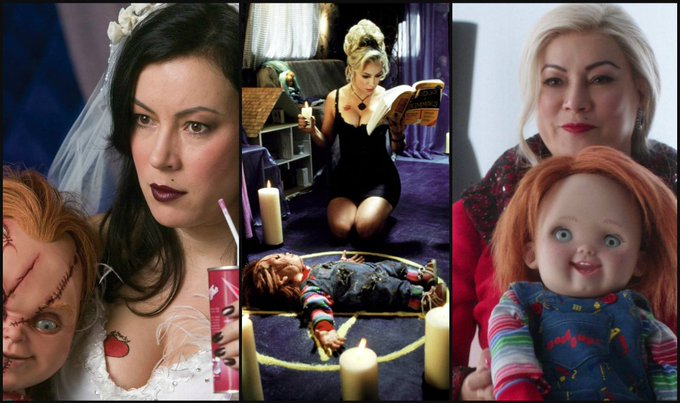 """Barbie, eat your heart out.\""  HL wishes a VERY Happy Birthday to the amazing Jennifer Tilly ... (Martyn)"
