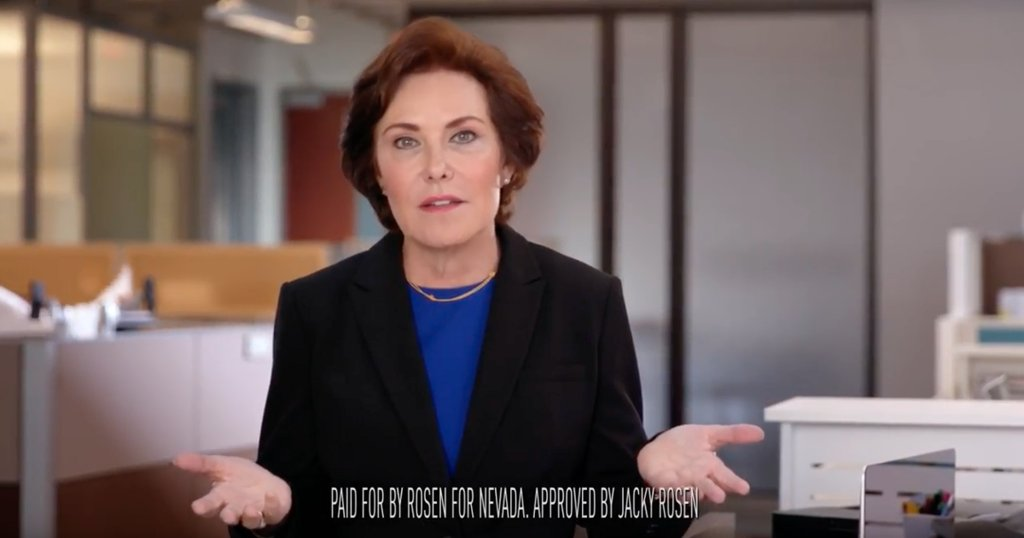 Nevada's Jacky Rosen's new ad shows latest Democratic push for health care in 2018