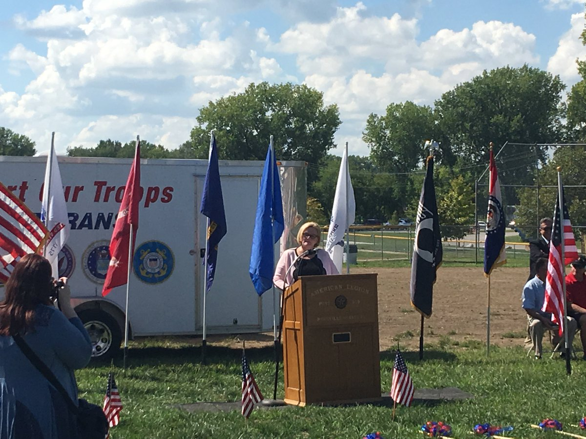 test Twitter Media - What a great turnout for the ground breaking ceremony for the @parkvillemo Veterans Memorial! Thank you to @clairecmc @McCaskillOffice @PiratePres @AmericanLegion Post 318 @VFWHQ Post 7356 and Patriot Outreach! https://t.co/j81etPkSr6