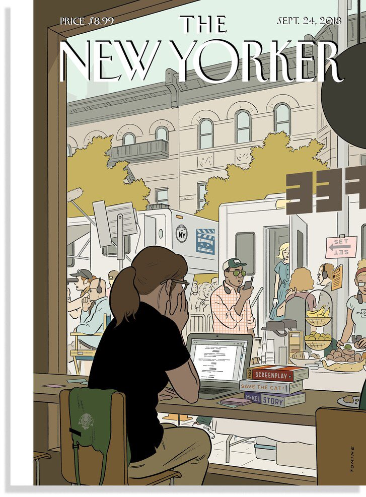 This week's New Yorker cover 👀 #TheFourthWall https://t.co/kdj0wzNzbB