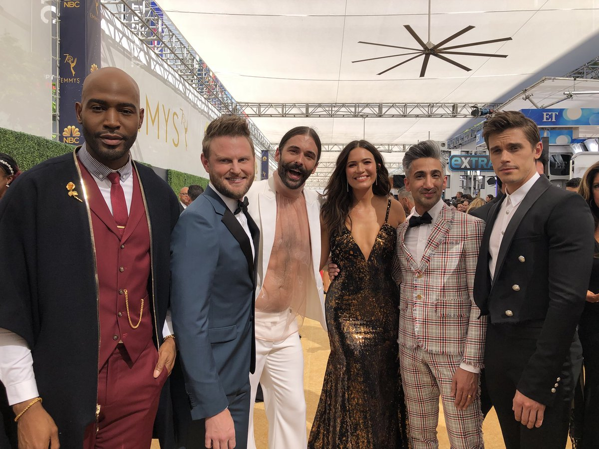 I've already won! I can go home now! ???????? #Emmys #ThisIsUs #QueerEye https://t.co/2Y9g121K1g