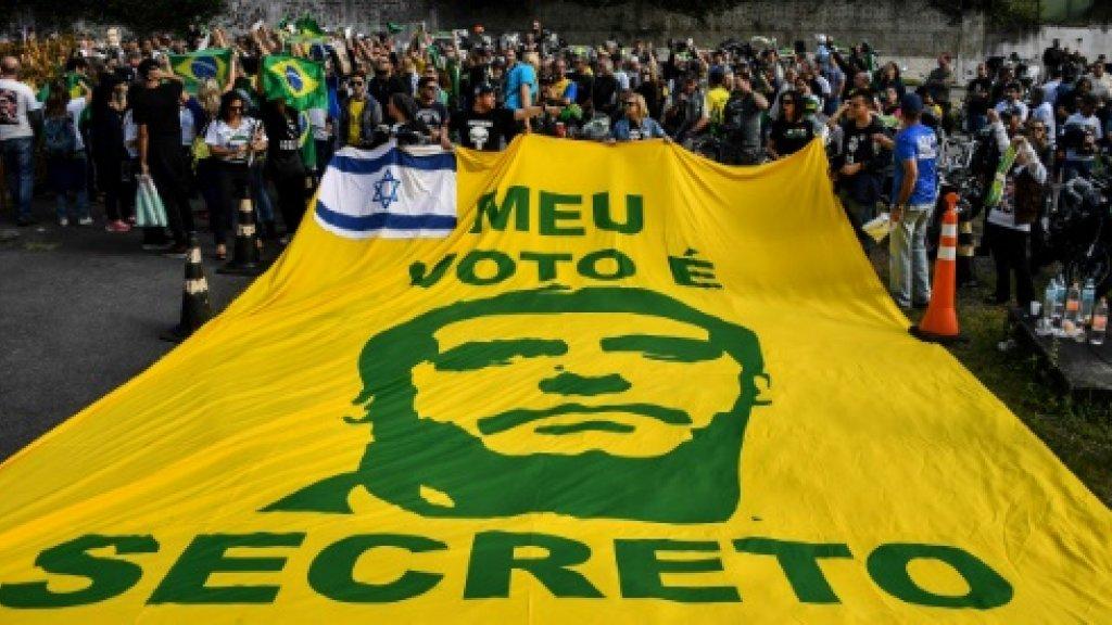Far right, leftist rivals ahead in Brazil poll