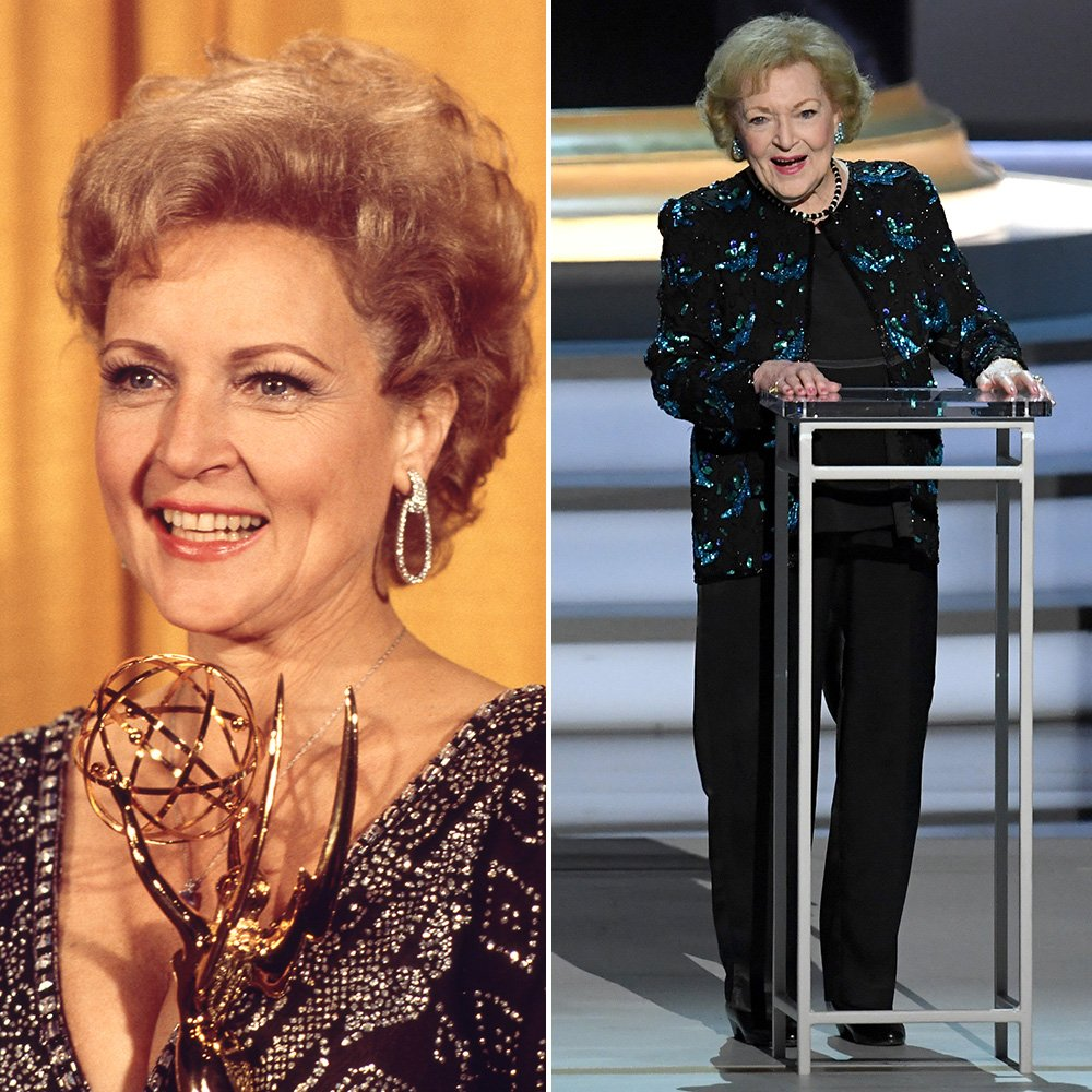 RT @TODAYshow: Then and now! @BettyMWhite at the #Emmys in 1976 and 2018 💛 https://t.co/UklssrEqyG