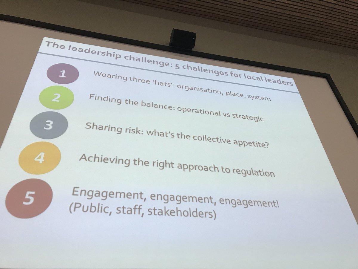 Andrew Cash identifies 5 leadership challenges for ICSs @AnnaCharlesKF @TheKingsFund https://t.co/bNy6CnyO2k