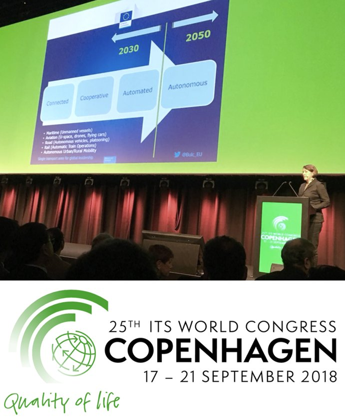 test Twitter Media - ITS World Congress 2018: @NEWBITS_CITS attended the opening ceremony with the European Commissioner for @Transport_EU Violeta Bulc @Bulc_EU! It was a very interesting speech and a good start for the congress! 👍 #Transport #Mobility #ITS @ITS_Congresses https://t.co/9Xsnpjlkzm