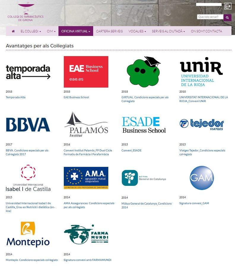 test Twitter Media - Descomptes per Temporada Alta 2018, EAE Business Scholl o BBVA són algunes de les avantatges dels col·legiats al COF Girona. Consulta-les totes al nostre web! https://t.co/e90rEOwdT9 https://t.co/oMOAmQFzaU