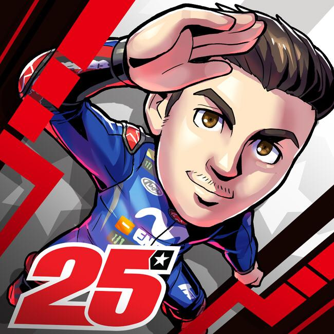 test Twitter Media - Mack attack 🥊  Can @maverickmack25 get back to winning ways at the #AragonGP this weekend? 🏁  #MangaGP by @fujiran 🎨 https://t.co/HJmLgKE7hj
