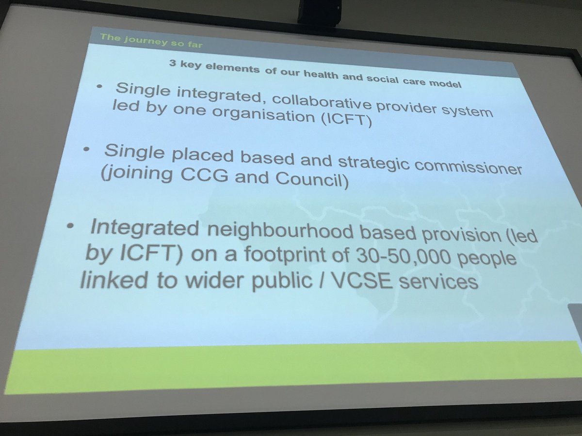 Greater Manchester's 3 key elements on health and social care @stevenpleasant1 https://t.co/SU1LG5BhlF
