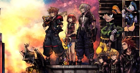 kingdom hearts 3 has a new trailer and cover art. Black Bedroom Furniture Sets. Home Design Ideas