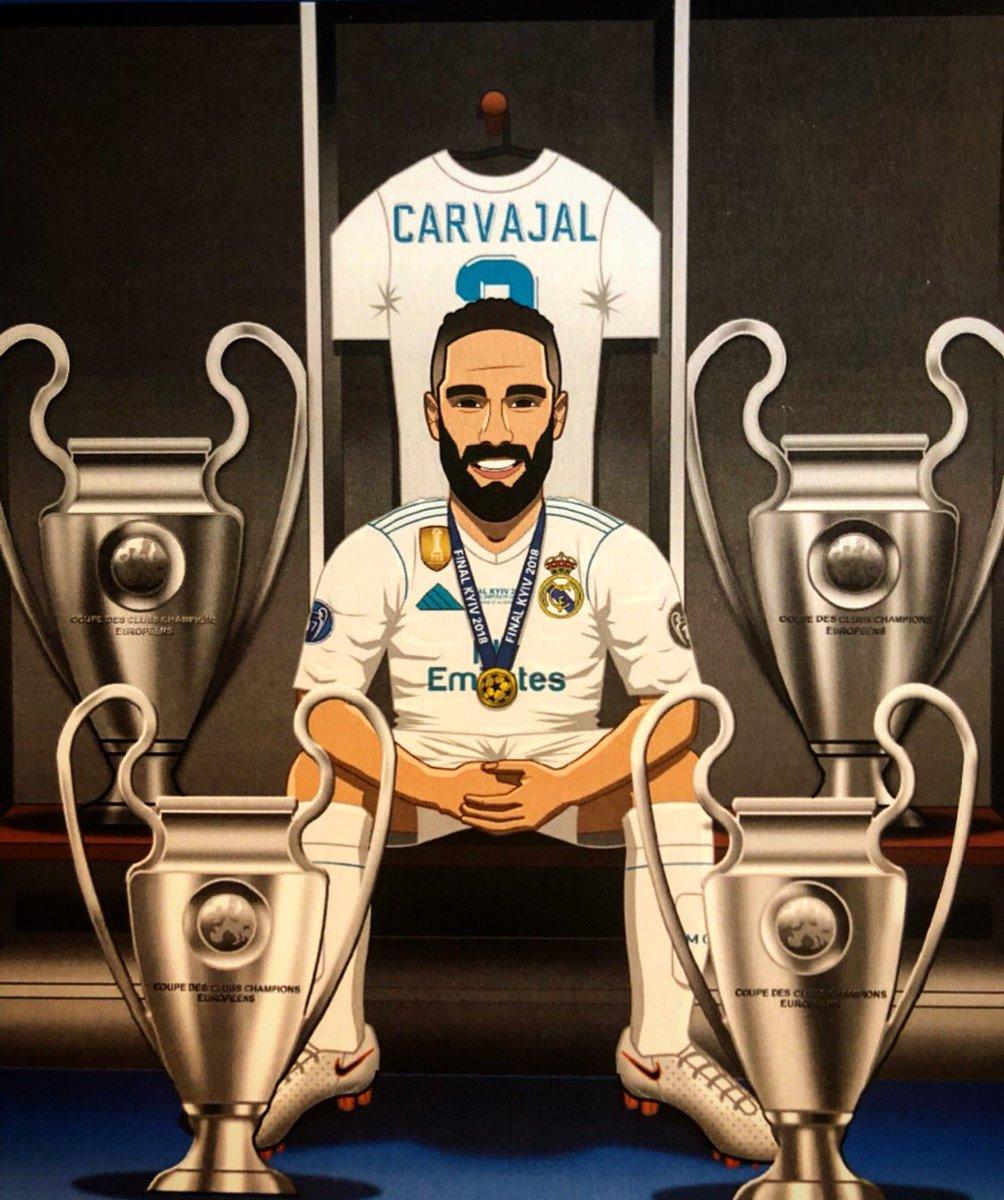 RT @DaniCarvajal92: Vuelve la @championsleague , con más ganas que nunca de seguir haciendo historia!! #halamadrid https://t.co/HPQifGeQhs