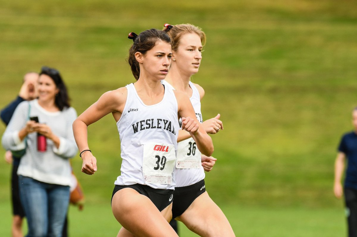 test Twitter Media - .@Wes_Athletics XC team excels in #LittleThree Championships, Julia Mitchell '19 claims title. https://t.co/JljhH4jYjp  #runningtowin #RollCards #BeatAmherst  👣 https://t.co/7PA2rL8lRO