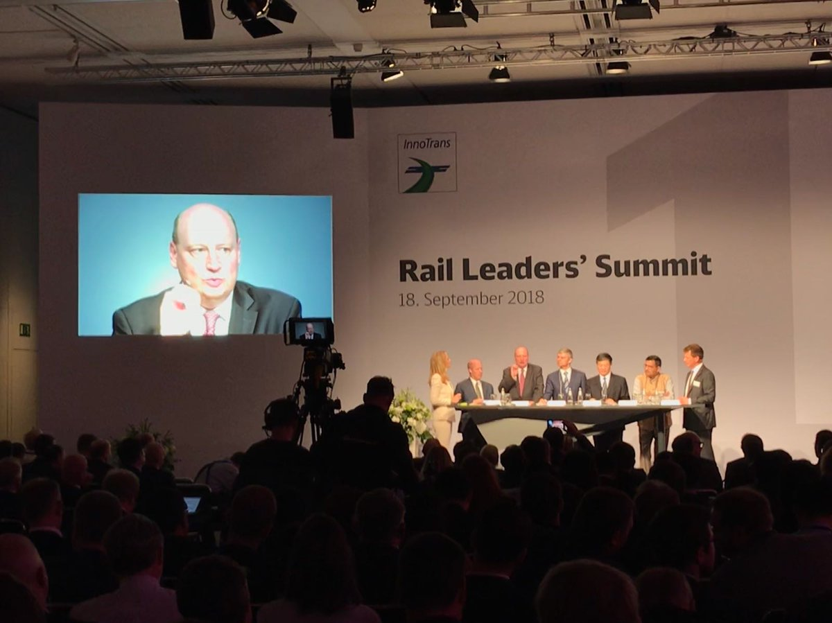 "test Twitter Media - DG Hololei at Rail Leaders' Summit #InnoTrans2018 –""Rail is the backbone of metropolitan transport. @EU_Commission works to bring about #innovation to railway systems –esp. increase punctuality & reliability w/ new traffic management systems a& grasp the potential of automation."" https://t.co/a68nFqCtiG"