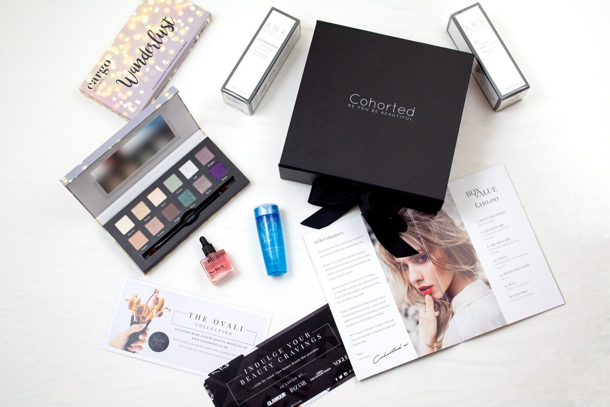 Subscribe to OK! for less than 99p per issue and receive a luxury beauty box worth £110