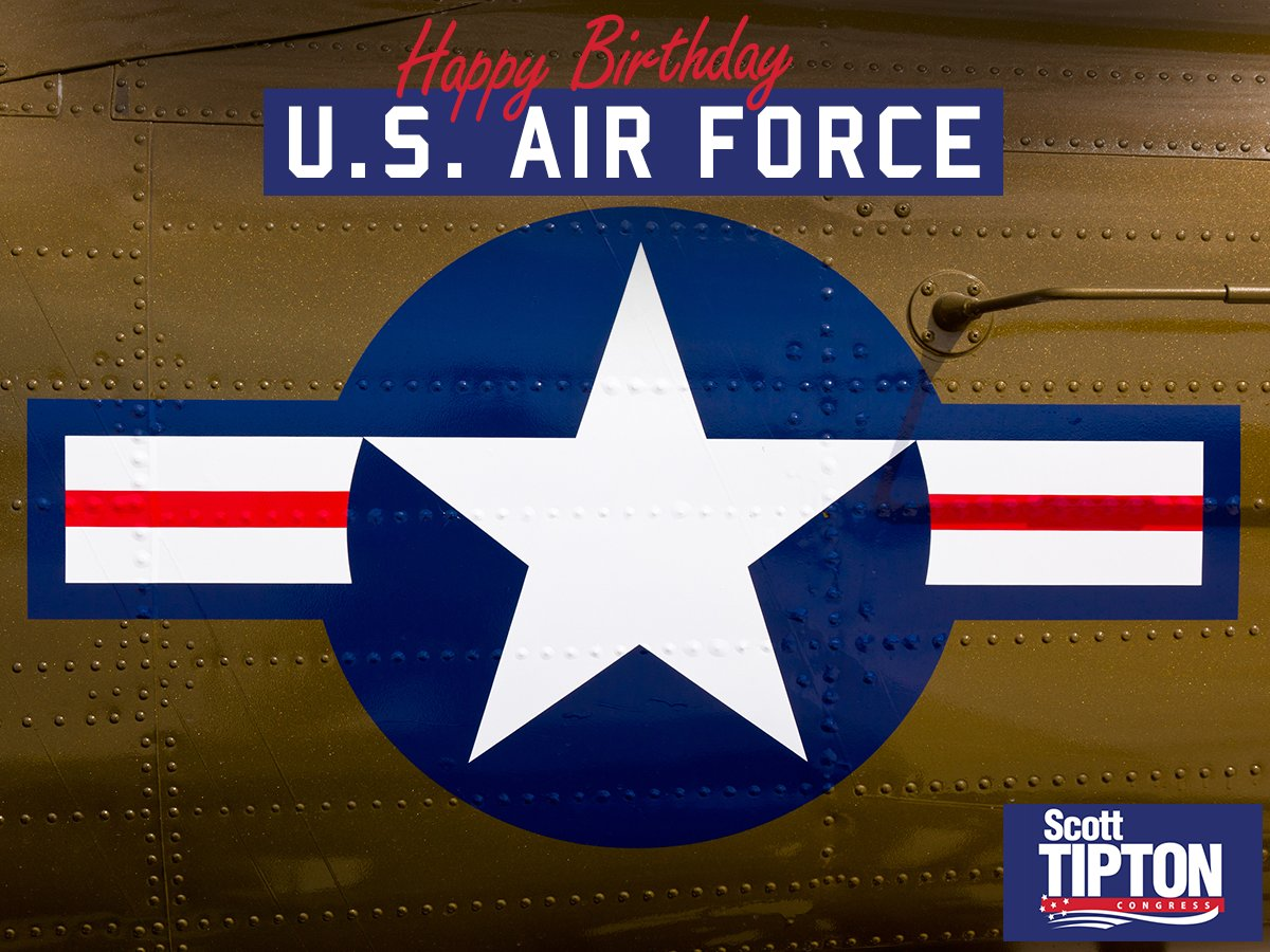 The United States Air Force celebrates its birthday today. Whenever the chance presents itself, please thank a veteran or active duty service member for their service.