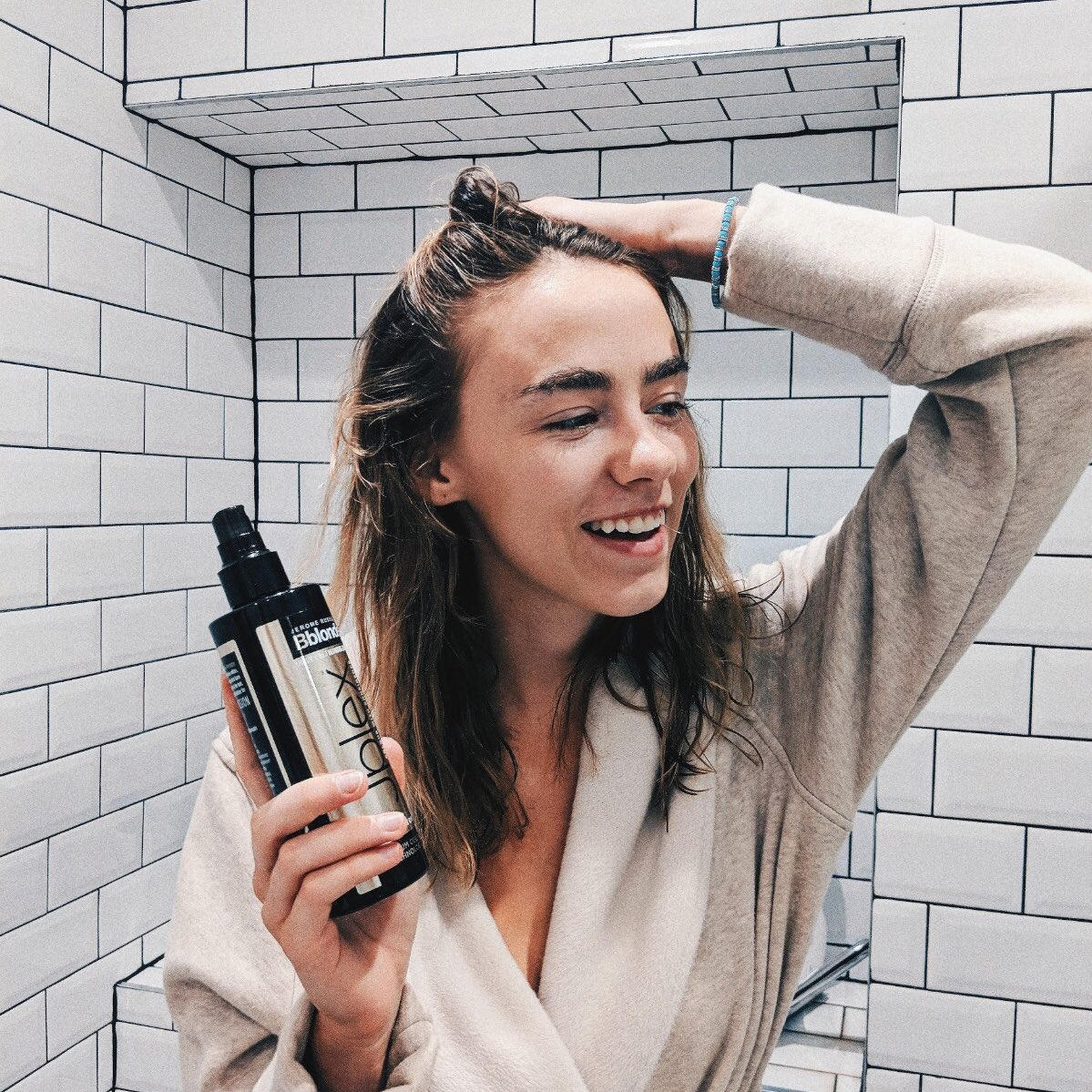 Image for Be like @AmeliaMandev and take the fear out of blonding with our Jplex system! https://t.co/tEarFNsJmv https://t.co/zCuXHGilhU
